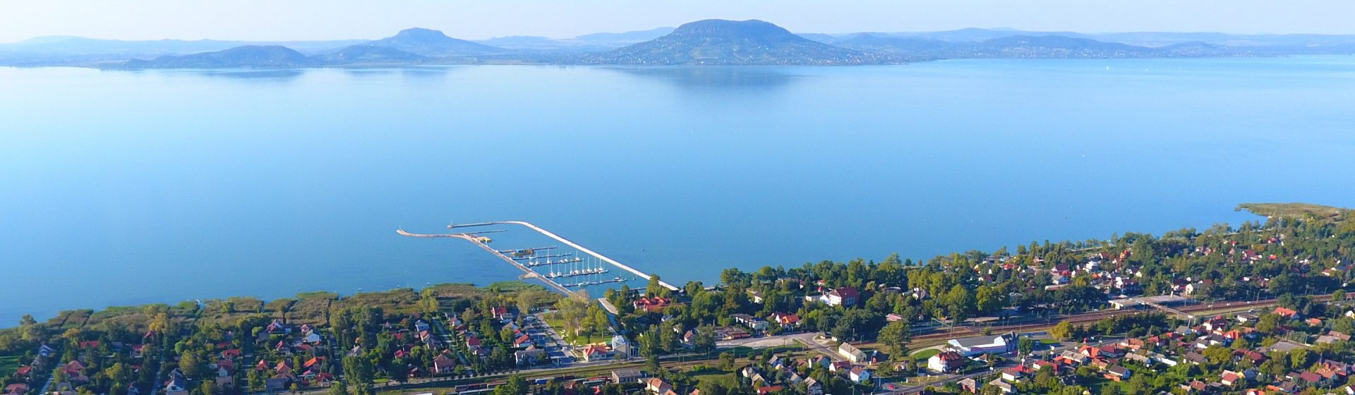 One of the most picturesque panorama around Lake Balaton